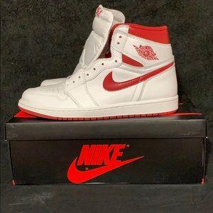 "los angeles f102c 799ec Air Jordan 1 Retro High OG ""Metallic Red"""